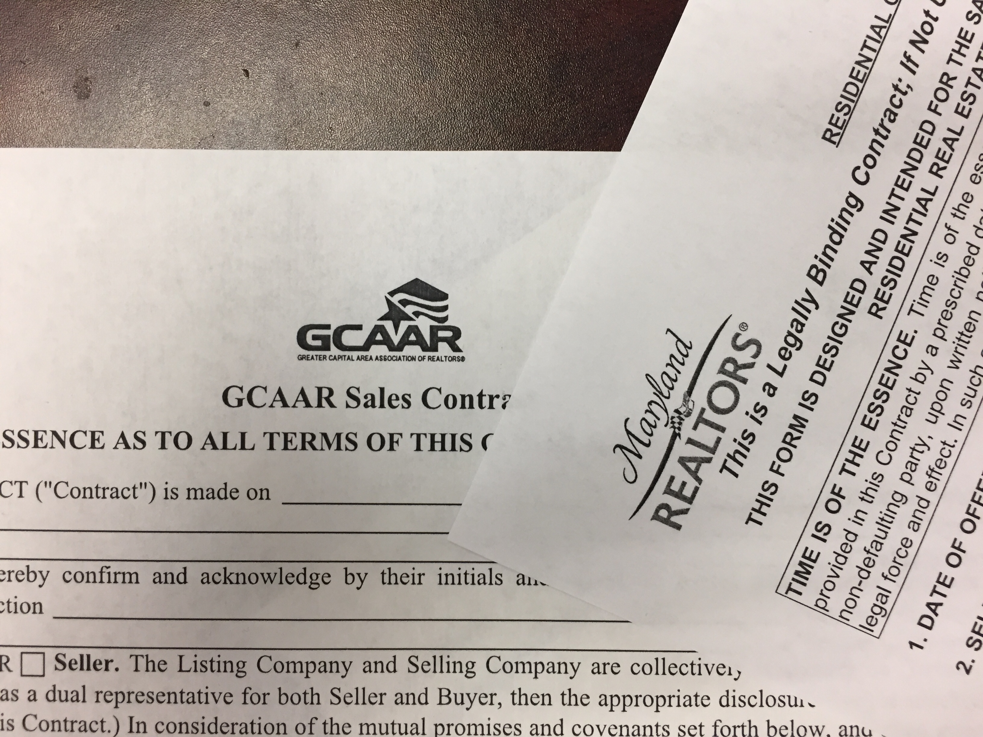 Image result for gcaar contract of sale