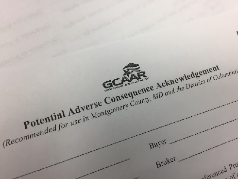 Are you familiar with the new GCAAR forms?